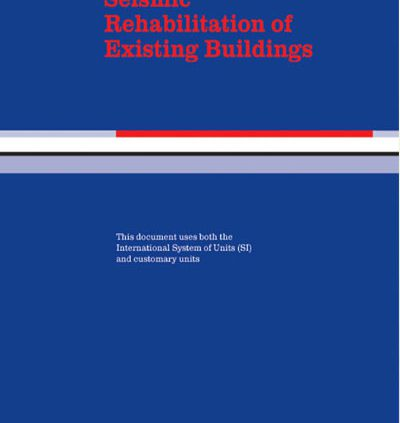 Seismic Rehabilitation of Existing Buildings