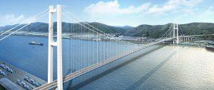 پل Ulsan Grand Harbor (کره جنوبی)